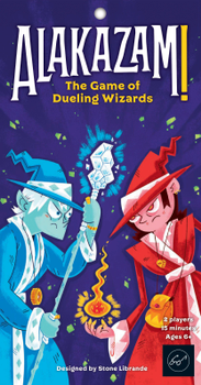 Alakazam!: The Game Of Dueling Wizards board game