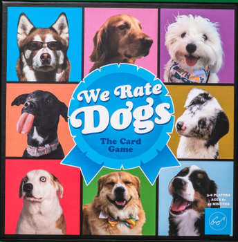 We Rate Dogs: The Card Game board game