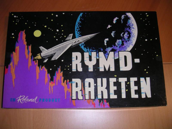Rymdraketen board game