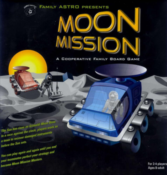 Moon Mission board game