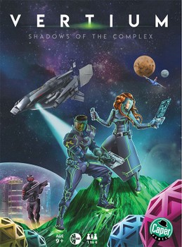 Vertium: Shadows of the Complex board game