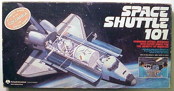 Space Shuttle 101 board game