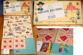 Have Gun Will Travel board game