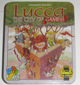 Lucca the City of Games board game