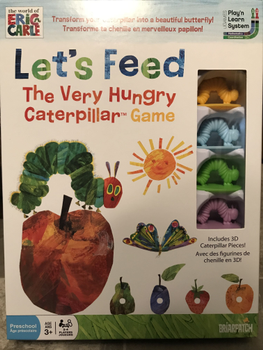Let's Feed The Very Hungry Caterpillar Game board game