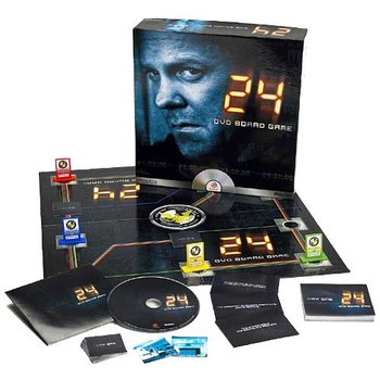 24 DVD Board Game board game