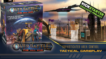 OverBattle: The All War board game