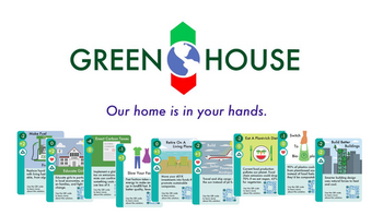 Green House: Our home is in your hands board game