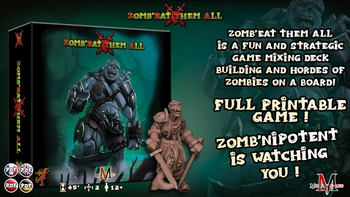 Zomb'Eat Them All board game