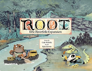 Root: The Riverfolk Expansion board game