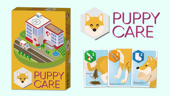 Puppy Care - A fast-paced Family Card Game board game