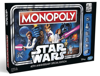 Monopoly: Star Wars 40th Anniversary Special Edition board game
