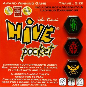 Hive Pocket board game