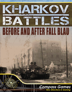 Kharkov Battles: Before & After Fall Blau board game