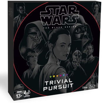 Trivial Pursuit: Star Wars - The Black Series Edition board game